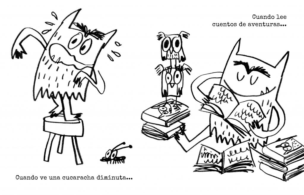 Contemporáneo Libros De Colorear Altos Monstruo Festooning - Páginas ...