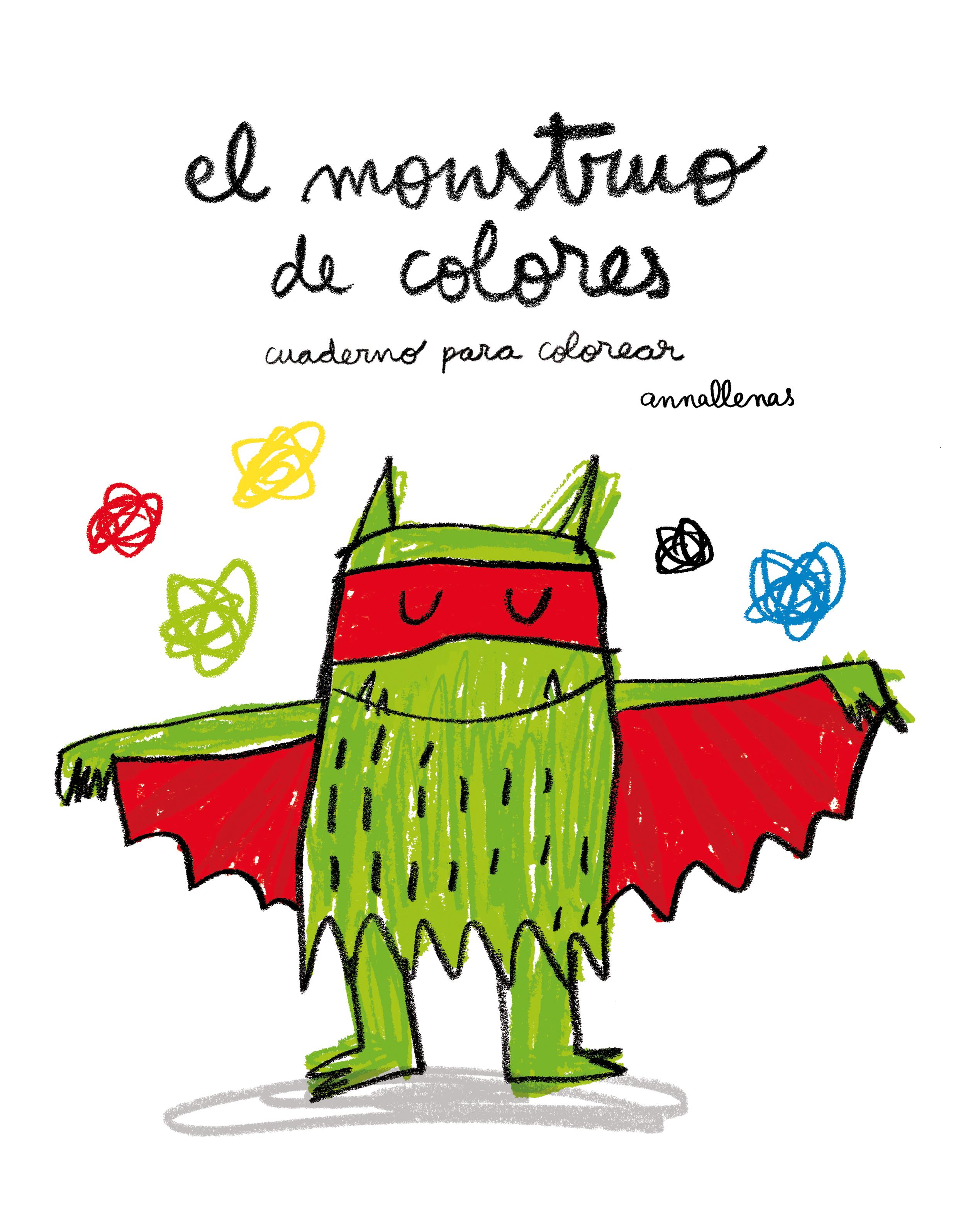 Lujoso Página Para Colorear Monstruo Foto - Ideas Creativas para ...