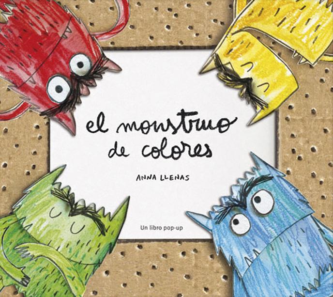 El monstruo de colores, un libro pop-up - Editorial Flamboyant